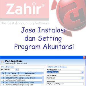 Jasa Instalasi dan Setting Program Akuntansi